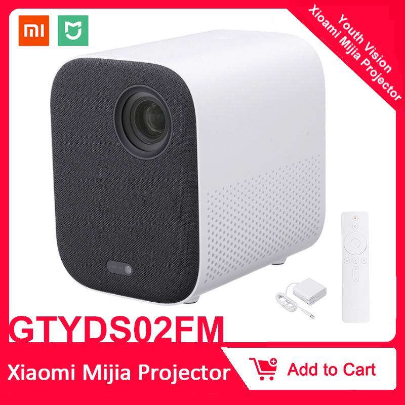 Xiaomi Mijia Projector TV Full HD 1080P 30000 LED Life DLP Wifi bluetooth sound Media Player For Phone Computer Music 3D image