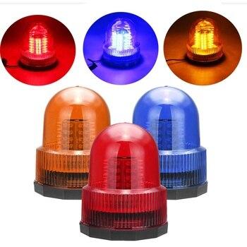 Rotativa farol lâmpada 72 led caminhão do carro strobe luz de advertência segurança led piscando luzes de emergência luz indicadora de sinal de alarme