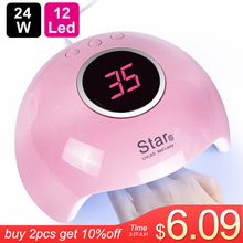 цена на UV Lamp For Manicure LED Nail Dryer Lamp Sun Light Curing All Gel Polish Drying UV Gel USB Smart Timing Nail Art Tools LASTAR6-1