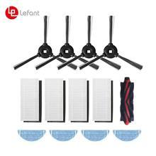 Cepillo lateral y principal/filtros HEPA/paño de mopa para Lefant M501-A/T700/U180/M201 piezas de Robot aspirador, accesorios de repuesto