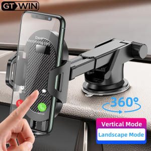 GTWIN Windshield Gravity Sucker Car Phone Holder For Phone Universal Mobile Support For