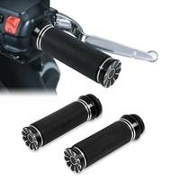 Motorcycle Electric 1'' Handlebar Hand Grips For Harley Touring Road Street Electra glide FLSTN Dyna Softail Fat Bob Low Rider