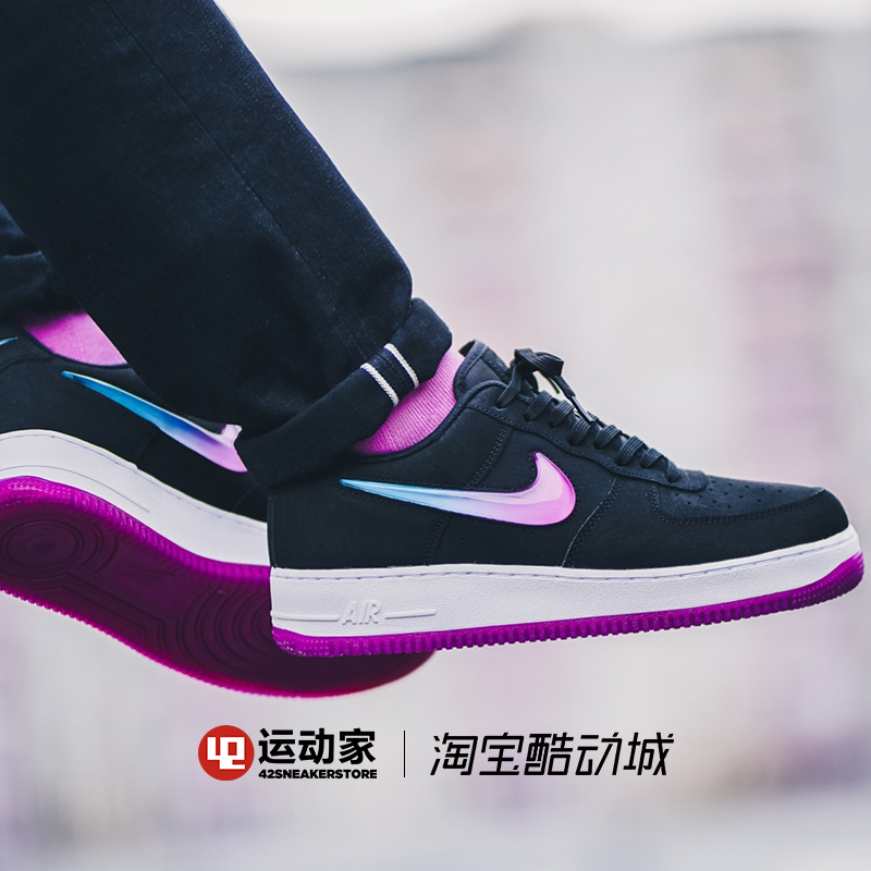 Nike Air Force 1 Original Women Skateboarsding Shoes Lightweight Breathable Sports Sneakers AT4143 in Skateboarding from Sports Entertainment