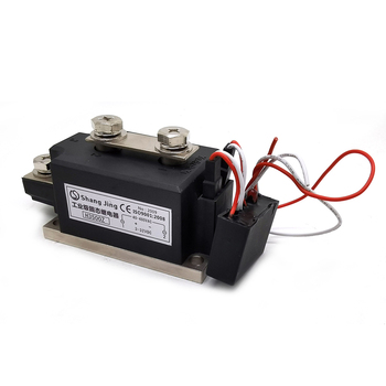 1pc ssr 50 da ssr 50da manufacturer 50a ssr relay input 3 32vdc output 24 380vac good quality with plastic cover wholesale hot 2020 most ideal 500A high power low consumption solid state relay module SSR relay single phase input 3-32VDC output 35-480VAC