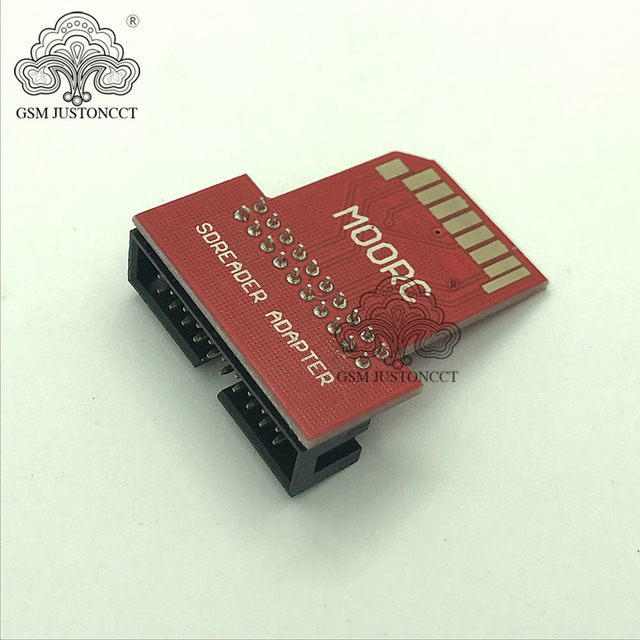original new moorc sdreader adapter pcb for E mate pro box / for ic friend x 13 in 1 / for emate socket  / for emmc socket ...