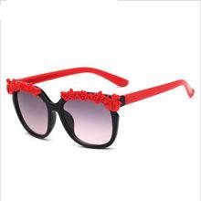 Розовые солнцезащитные очки для девочек детские милые модные