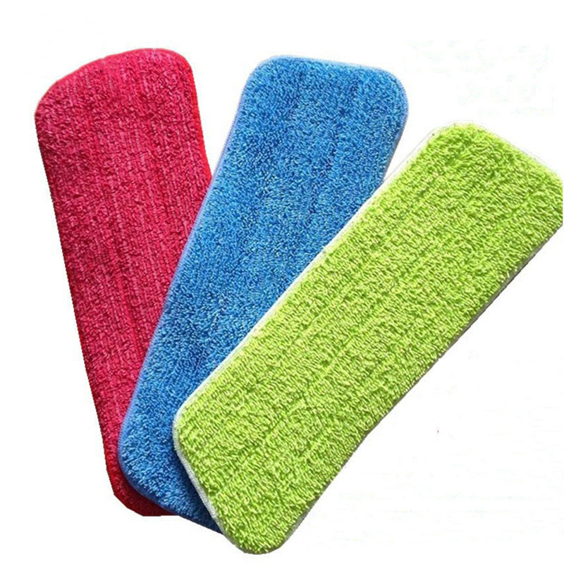 Mop Head Floor Cleaning Replacement Cloth Microfiber Replacement Mop Pad Paste Cloth Cover Home Spray Water Spraying Flat Dust