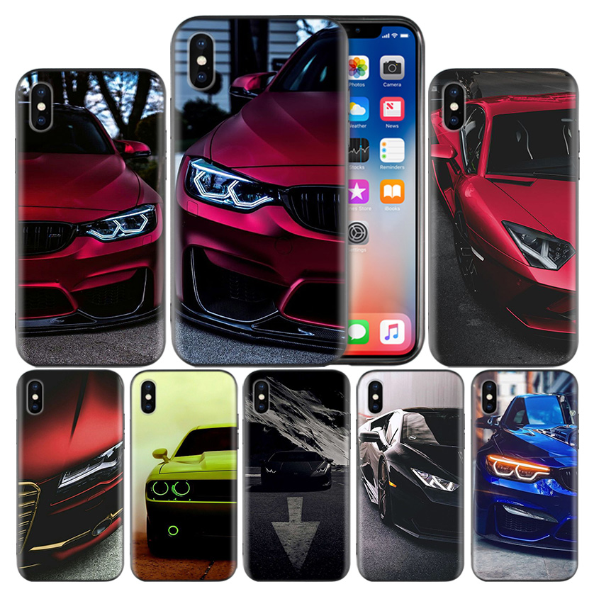 Blue Red <font><b>for</b></font> <font><b>Bmw</b></font> Soft TPU Cover <font><b>Case</b></font> <font><b>For</b></font> Apple <font><b>iPhone</b></font> 7 <font><b>8</b></font> 6 6S Plus X XS MAX XR 5 5S 5C SE 10 Ten XI XIR XI MAX Capa Funda image