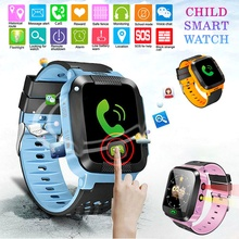цена на Y21S Children Smart Watch Anti-lost Kids Safe GPS Tracker SOS Call GSM Smartwatch Bracelet Smart Positioning Fit for Android IOS