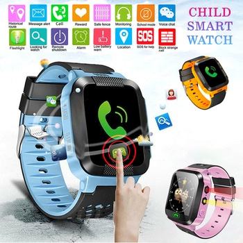 Y21S Children Smart Watch Anti-lost Kids Safe GPS Tracker SOS Call GSM Smartwatch Bracelet Smart Positioning Fit for Android IOS genboli gps tracker children watch anti lost sos call kids smart watch child watch tracking bracelet smartwatch support sim card