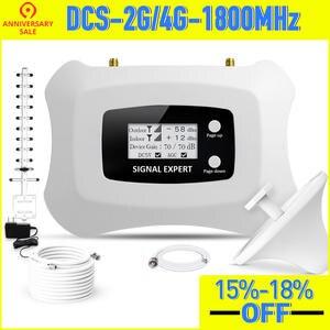 Усилитель сотового сигнала, репитер DCS 2G 1800 МГц Tele2 4G, повторитель сигнала