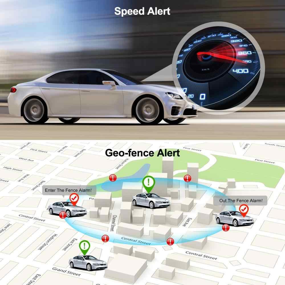 Prazata 3G GPS المقتفي سيارة جهاز تعقب GPS للمركبات GPS محدد OBD2 الوقت الحقيقي تتبع جهاز مراقبة الصوت OBD II واجهة عمر شحن