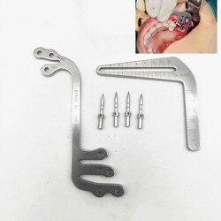 Dental implantate instrumente oral pflanzung positionierung guide dental implantat werkzeuge pflanzung positionierung winkel lineal Zahnarzt werkzeuge