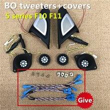 Car Tweeter Midrange Speakers Subwoofer For BMW F10 F11 5 Series Original High Quality BO Horn Audio Luminous Cover Loudspeaker