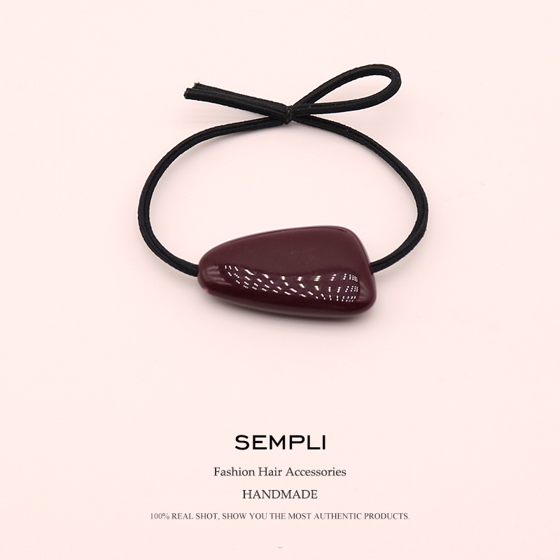 2 Pieces 5 Candy Colors High Elasticity Elastic Rubber Band For Women Girl Hair Band Children Hair Accessories Headwear in Women 39 s Hair Accessories from Apparel Accessories