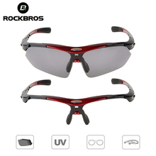 ROCKBROS Cycling Polarized Sport Sunglasses Outdoor