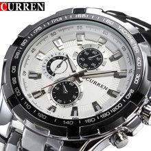 Top Brand Luxury full steel Watches Men Sports Business Casual quartz Wrist Watches Military Wristwatch waterproof Relogio SALE