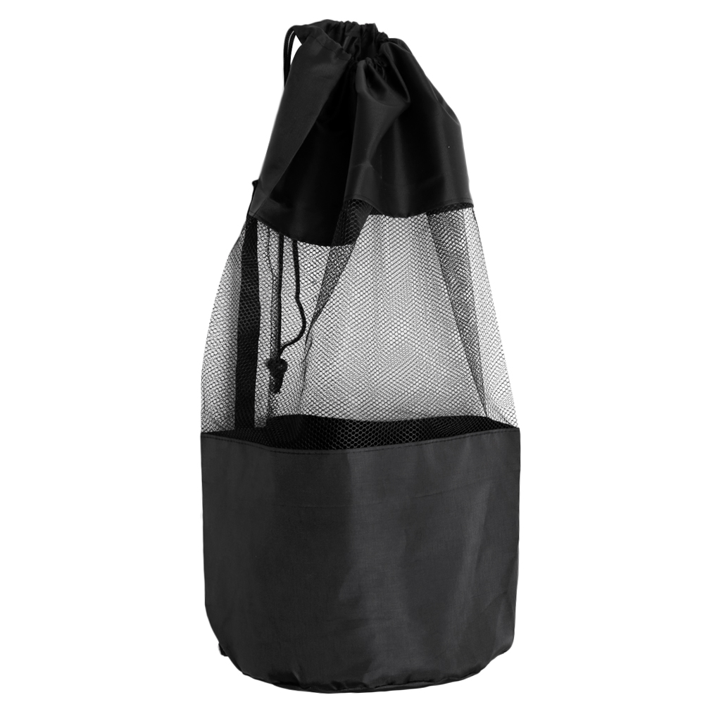 Drawstring Dive Mesh Gear Bag For Scuba Diving Snorkeling Swimming Mask Wetsuit Fins Flippers Accessories Equipment