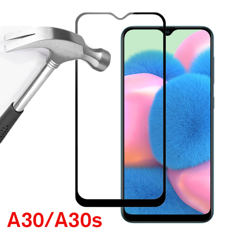 2Pcs Tempered Protective Glass For Samsung Galaxy A30s Screen Protector on the For Samsun Galaxi A30 s A 30s SM-A307 Safety Film