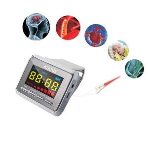 Reloj diatético Tinnitus, láser para acupuntura, fisioterapia, lípidos en sangre, azúcar, Diabetes, presión arterial alta, azúcar, hipertensión