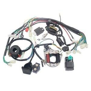 Новая электрика статор катушки CDI жгут проводов для 4-тактный ATV KLX 50cc 70cc 110cc 125cc квадроцикл багги картинг ямы велосипеды грязи