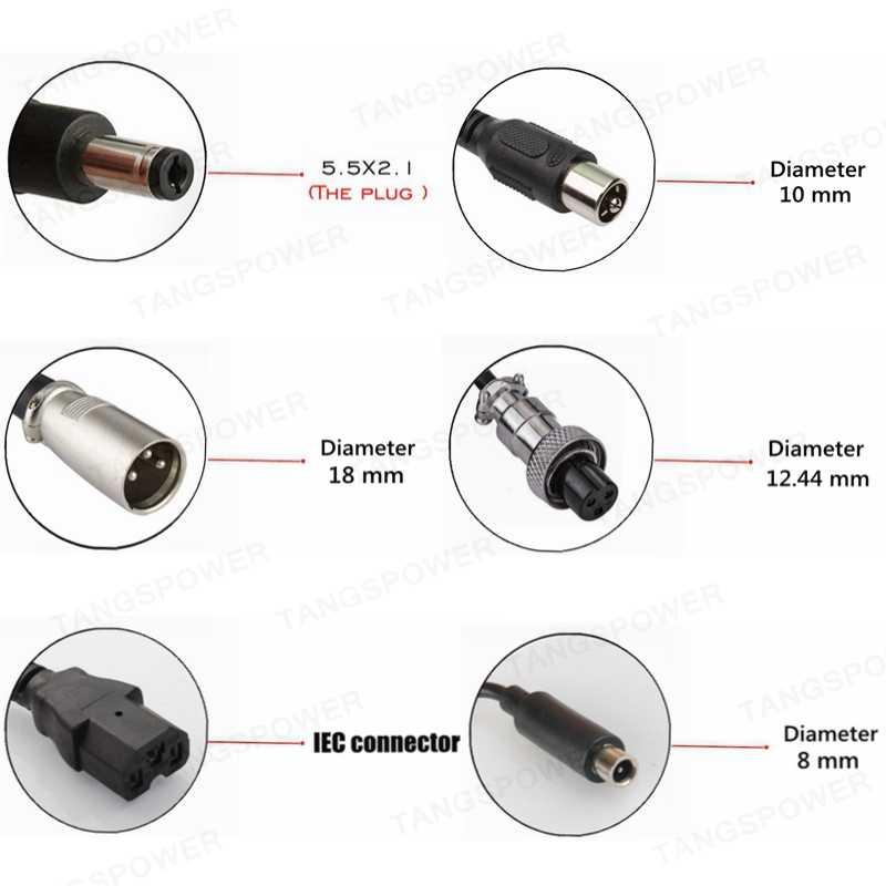 TANGSPOWER 54.6V 3A Sạc Pin Lithium 54.6V3A Sạc Xe Đạp Điện Cho 13S 48V Li-ion Bộ Pin Sạc chất Lượng Cao