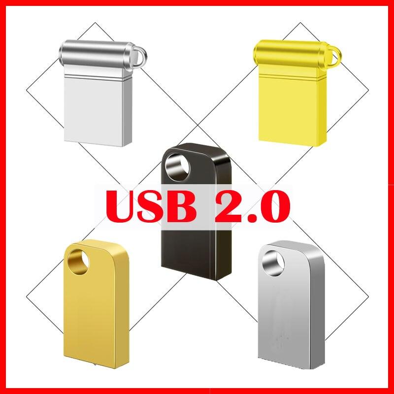 USB 2.0 128GB Pen Drive 64gb Usb Flash Drive Disk 32gb  Mini Usb Stick 16gb  8gb 4gb Memoria  Cle Usb 256gb Gift OTG Connector