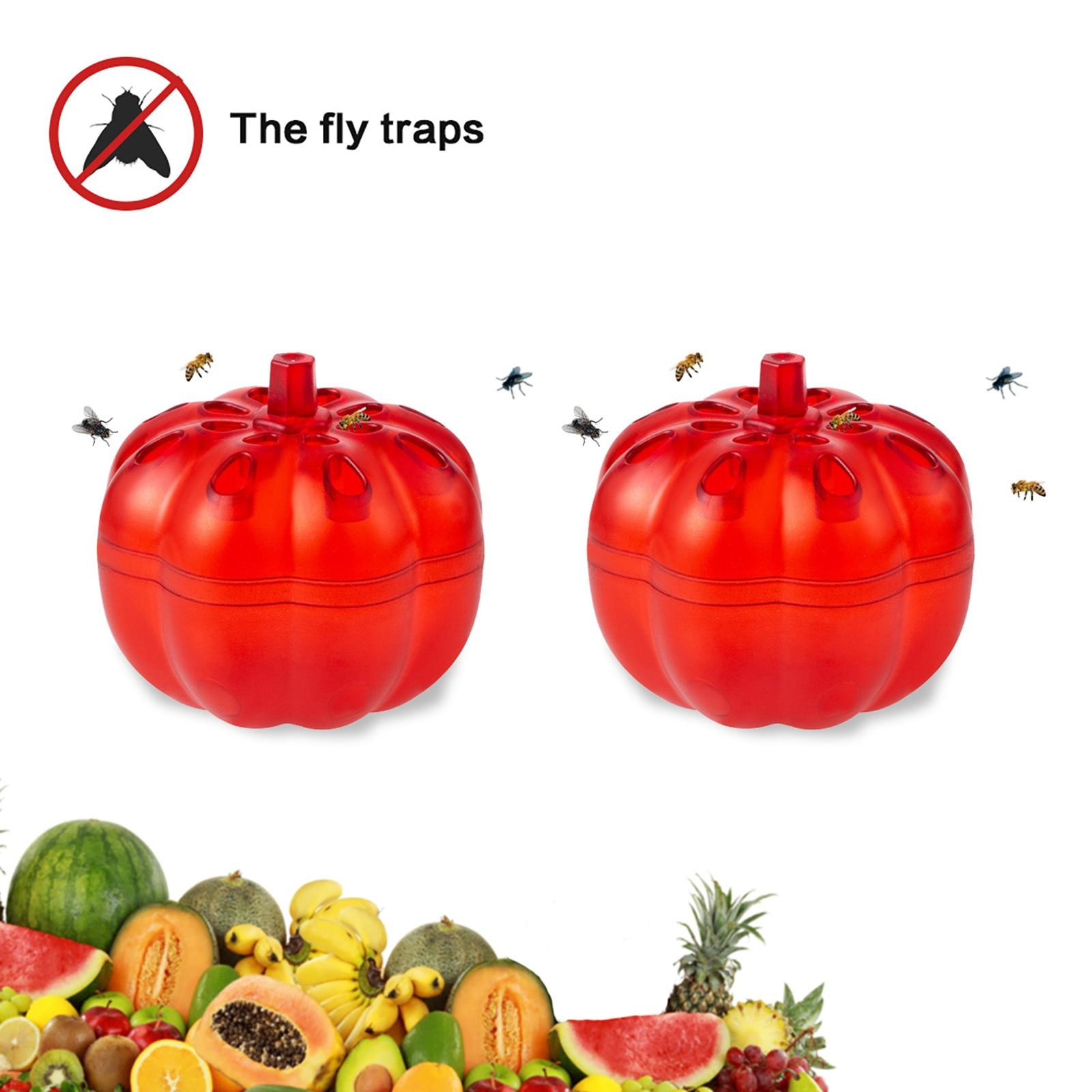 Ловушка для насекомых и фруктов, маленькая ловушка для насекомых с тыквой, без лекарств, ловушка для насекомых, подвесная ловушка для меда, с...