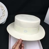 Papyrus panama three points wide brim grass flat straw hat shading is prevented bask in M tide for the men and women