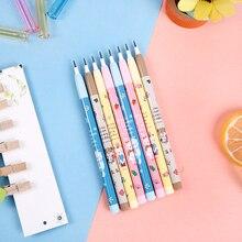 4PCS/Set Non-sharpening Pencil Cute Stationery Cartoon Plastic Student School Office