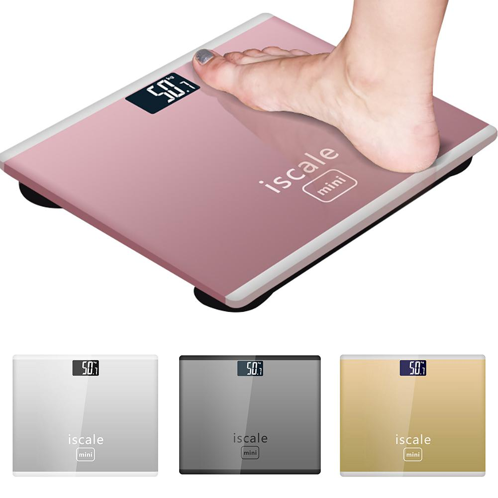 New 180KG Electronic Weighing Scales LED Digital Display Weight Weighing Floor Electronic Smart Balance Body Household Bathrooms