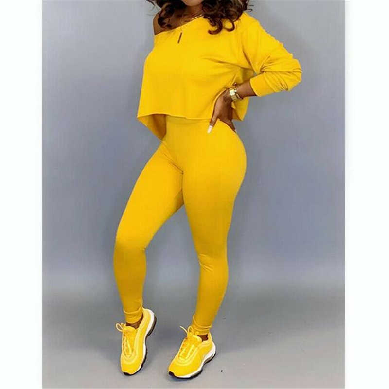 Women Sets Autumn Winter Women 2 pcs Sweatsuit Pullover Suits Women Outfits Two Piece Tracksuits Casual Sets 2Piece Set
