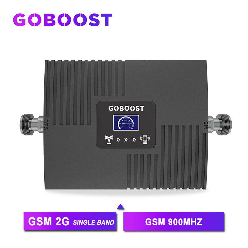 GSM Repeater Cellular Signal Booster LCD Display Mini GSM Repeater Signal GSM 900MHZ For Mobile Phones Amplifier 65dB NEW *