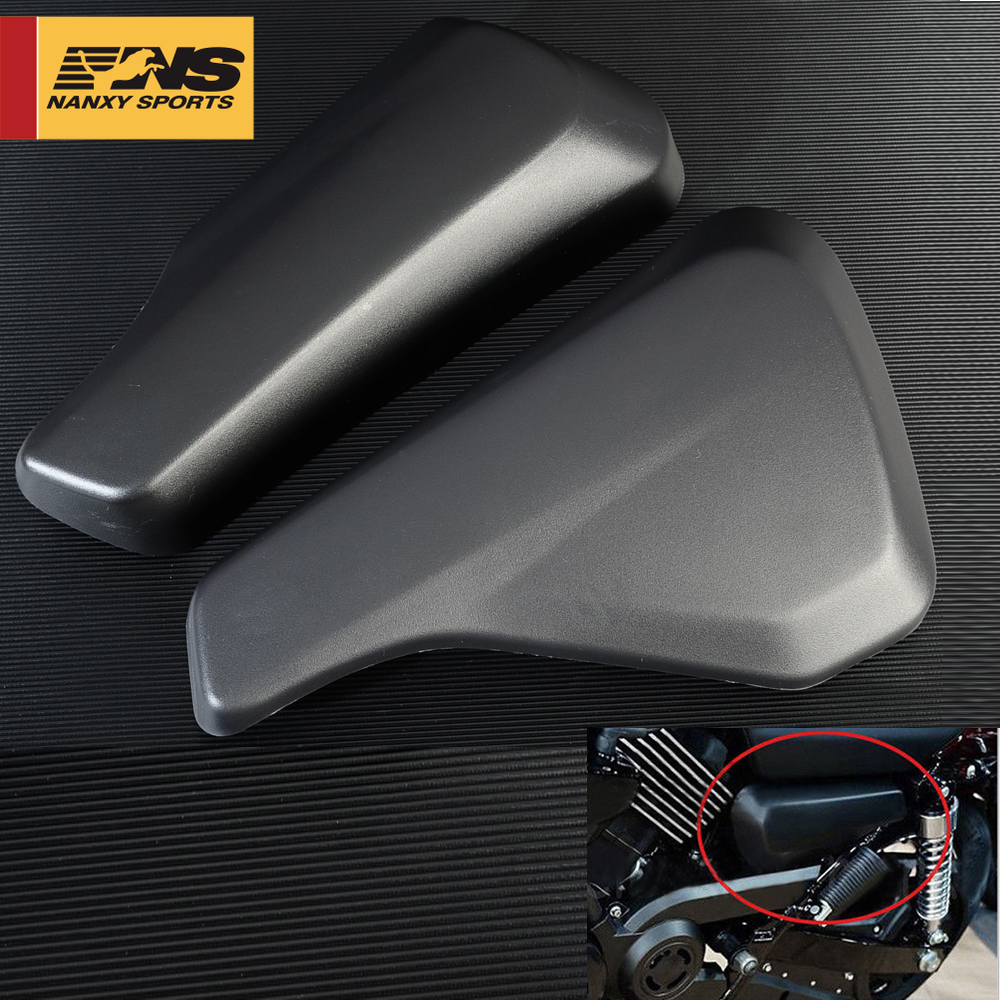 Motorcycle Battery Side Fairing Covers Left &Right Battery Cover for <font><b>Harley</b></font> Street <font><b>XG750</b></font> XG 750 2014 2015 2016 2017 2018 ABS image