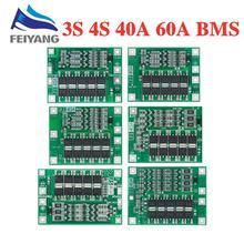4S 40A Li Ion Lithium Batterie 18650 Ladegerät PCB BMS Schutz Bord mit Balance Für Bohrer Motor 14,8 V 16,8 V Lipo Zelle Modul