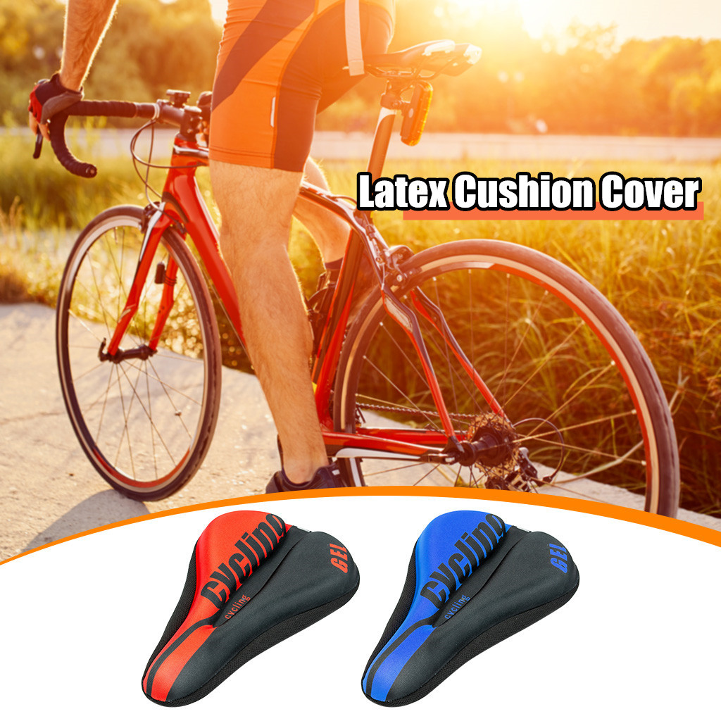 MTB Bicycle Seat Cushion Cover Anti-skid Ultra Comfortable Soft Thick Gel Pad