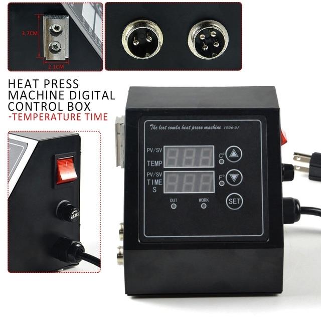 110v/220V Heat Press Machine Digital Control Box-Temperature Time Smart Temperature Control System Family Intelligence System