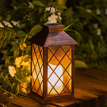 Candle-Light Outdoor-Decoration Solar-Powered Garden Electronic LED Waterproof for Yard