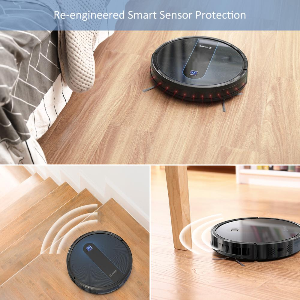 Coredy R650 Roboter-staubsauger Für Teppich und Boden Auto Lade Virtuelle Wand Geplant Reinigung Staub Kehr Hause Haustier Haar 1600Pa Multifunktionaler Smart Bodenreiniger