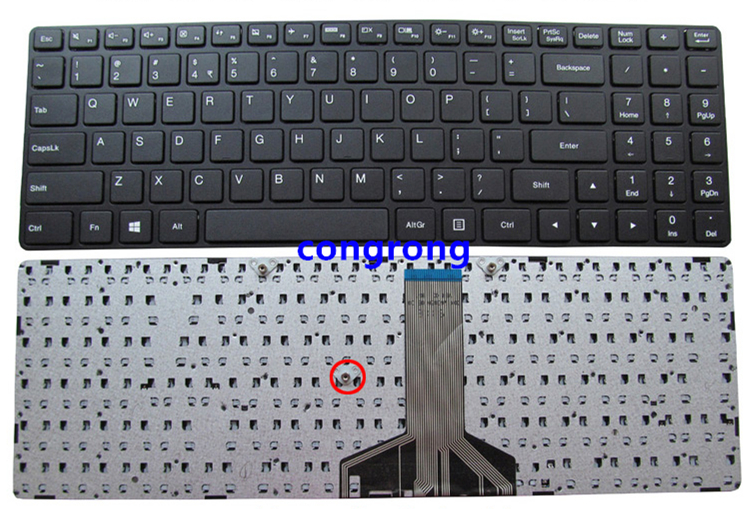 For Lenovo IdeaPad 100-15 100-15IBY 100-15IBD Laptop US English Keyboard B50-50 B50-10