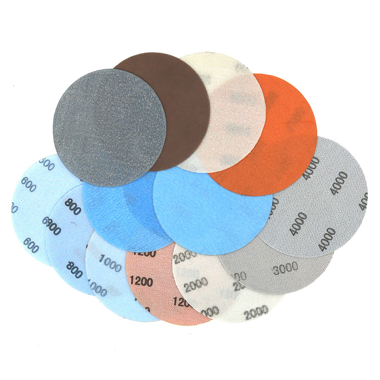 5-Inch FV Soft Dry Sanding Paper Car Polishing Paint Polishing 600 #800 #3000 #4000 # Diameter 125 Mm