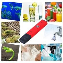PH Meter High Accuracy  0.1 LCD Digital Tester Aquarium Pool Water Quality Measure Wine Urine Automatic Calibration 0-14