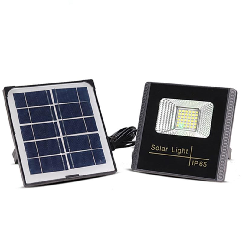 10W Solar LED Flood Light Solar Cast Light Street Lamp Waterproof Outdoor Garden Solar Spot Light LED Floodlight