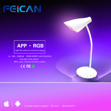 RGBW Wifi Smart LED Desk Lamp Dimmer Music Color Changing Timer Function by Android/IOS Smart Lamp APP Wifi LED Table Lamp