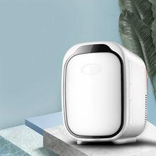 6L Einzelne Tür Kühlschränke Für Heizung und Kühlung Elektrische Hause Kleine Kühlschränke Gefrierschrank Desktop Kühler Wärmer für Büro Mit