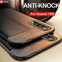 Slim Case For Huawei Y9S Case Armor Bumper Soft Silicone Back Cover Case For Huawei Y9S Y 9S Y 9S Case Matte TPU Funda Grip Capa