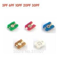 10 PIÈCES Tondeuse Réglable condensateur 3PF 6PF 10PF 20PF 30PF SMD TZC3Z300A110 TZC3Z060A110 TZC3Z030A110 TZC3Z200A110 TZC3Z100A110