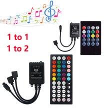 Dimmer Light Controller Sensor Led-Strip Mini 12V DC IR RGB Music for 5050