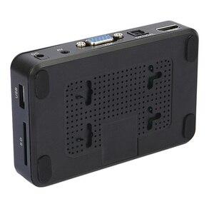 Image 5 - Mini Full HD Media multimedia Player Autoplay 1080P USB External HDD Media Player For SD U Disk HDMI VGA AV Output FOR MKV RMVB