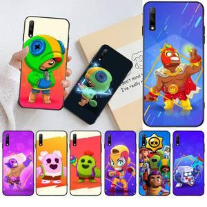 NBDRUICAI Cute Case Gbrawl Stars Customer High Quality Phone Case For Huawei Nova 6se 7 7pro 7se honor 7A 8A 7C Prime2019(China)